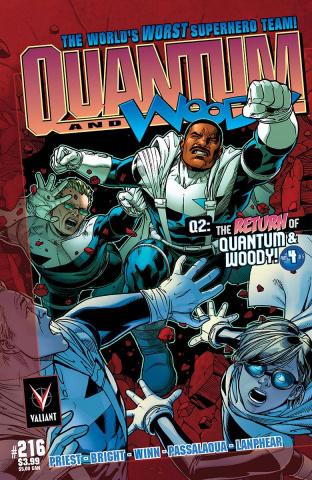 Q2: The Return of Quantum & Woody #4 (25 Copy Chen Cover)