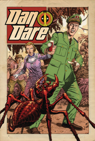 Dan Dare #2 (Weston Cover)