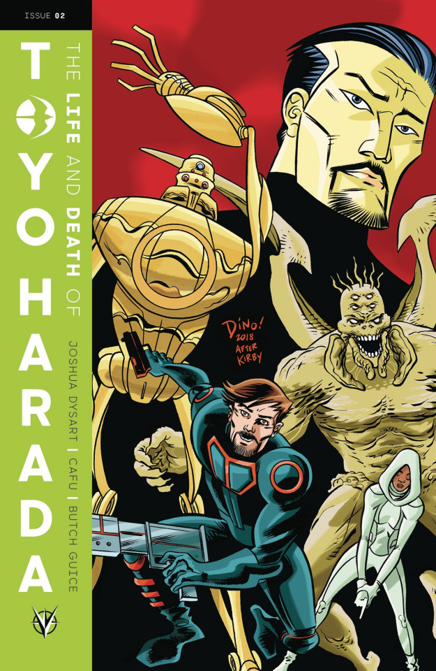 The Life and Death of Toyo Harada #2 (Haspiel Cover)