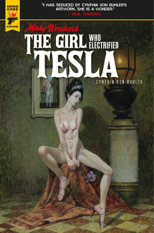 Minky Woodcock: The Girl Who Electrified Tesla #1 (McGinnis Cover)