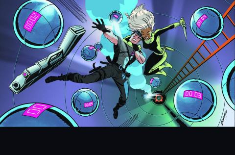 Grayson #5 (Darwyn Cooke Cover)