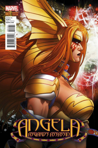 Angela: Asgard's Assassin #1 (Jimenez CoveR)