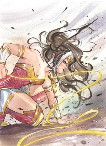 Future State: Immortal Wonder Woman #1 (Peach Momoko Card Stock Cover)