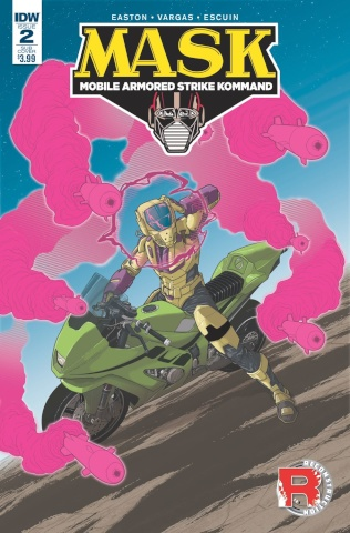 M.A.S.K.: Mobile Armored Strike Kommand #2 (Subscription Cover)