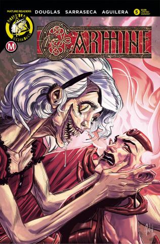 Carmine #5 (Sarraseca Cover)