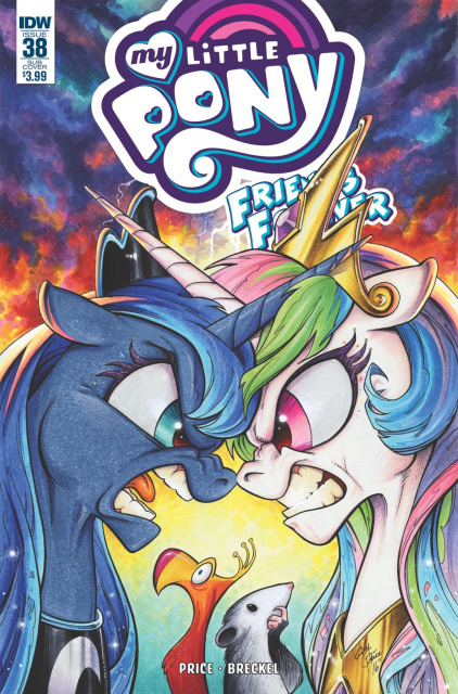 My Little Pony: Friends Forever #38 (Subscription Cover)