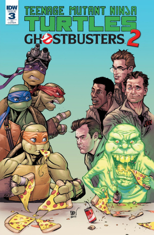 Teenage Mutant Ninja Turtles / Ghostbusters 2 #3 (10 Copy Cover)