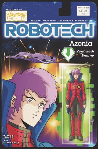 Robotech #14 (Action Figure Cover)