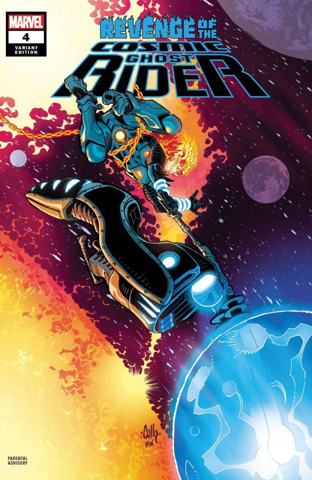 Revenge of the Cosmic Ghost Rider #4 (Hamner Cover)