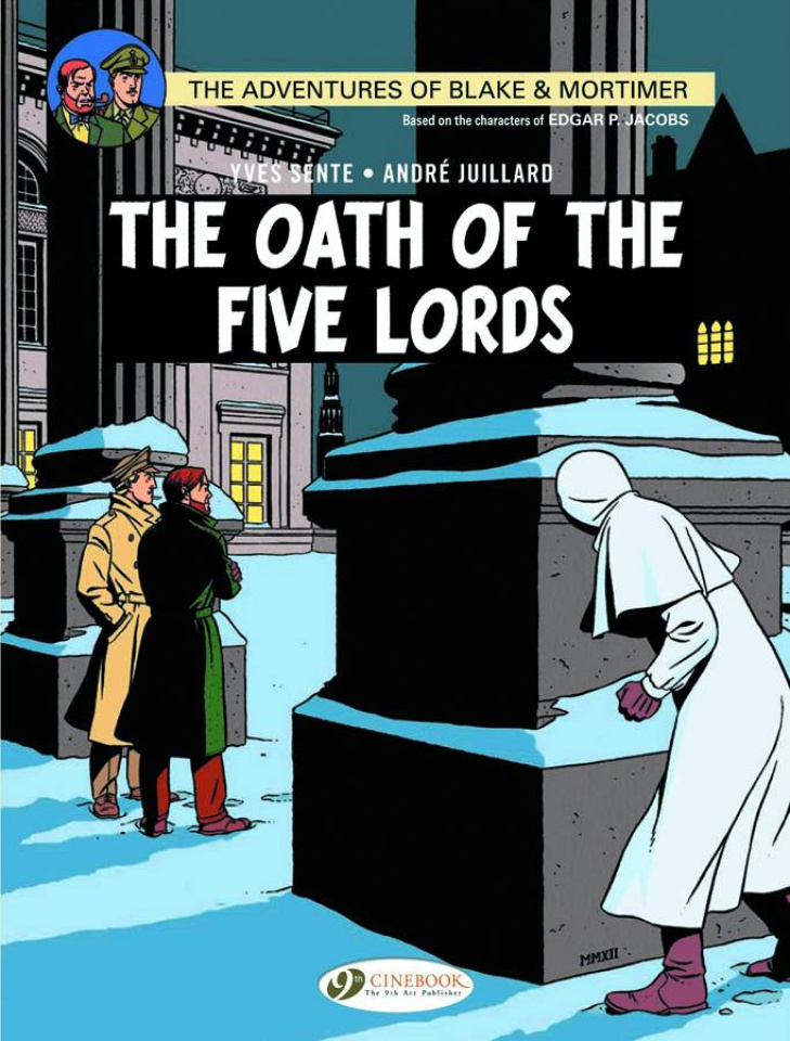The Adventures of Blake & Mortimer Vol. 18: The Oath of the Five Lords