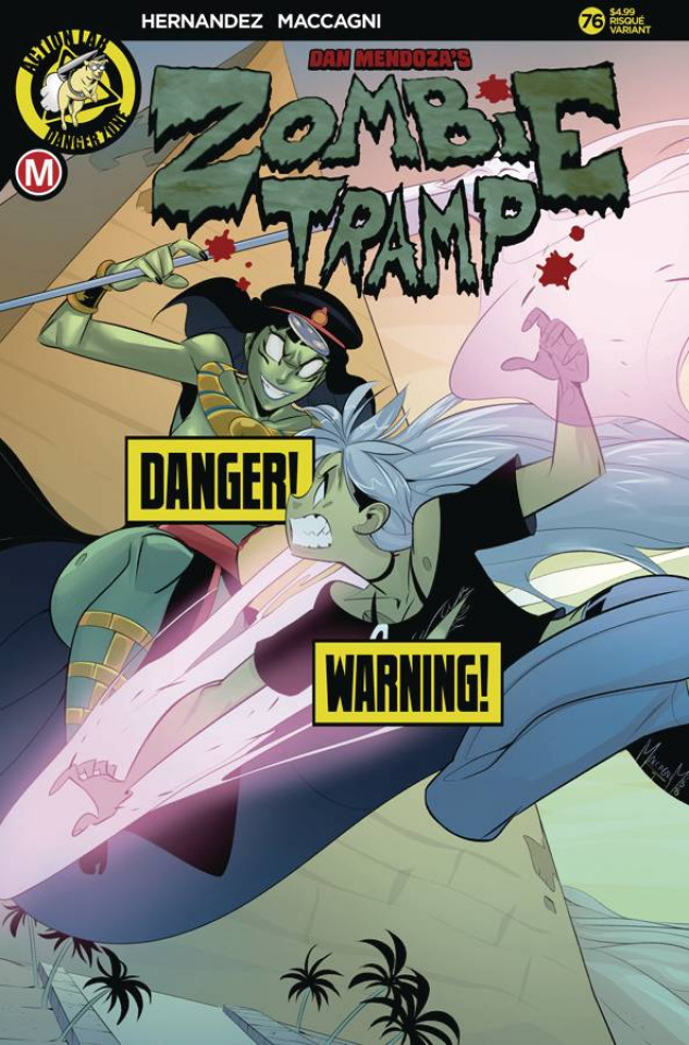 Zombie Tramp #76 (Maccagni Risque Cover)