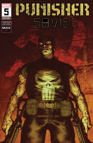 Punisher: Soviet #5 (Giangiordano Cover)