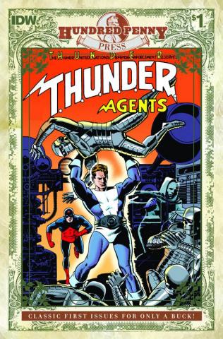 T.H.U.N.D.E.R. Agents Classic #1 (100 Penny Press)