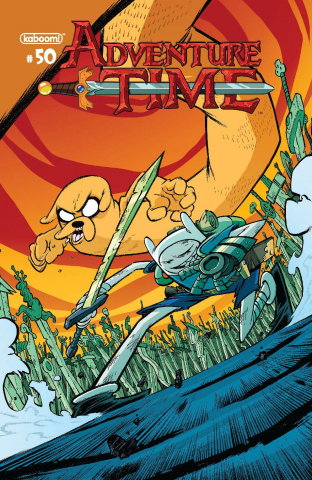 Adventure Time #50 (Subscription Corona Cover)