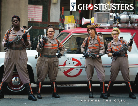Ghostbusters: Answer the Call #1 (10 Copy Cover)