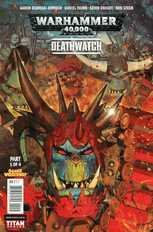 Warhammer 40,000: Deathwatch - The Lost Sons #1 (Listrani Cover)