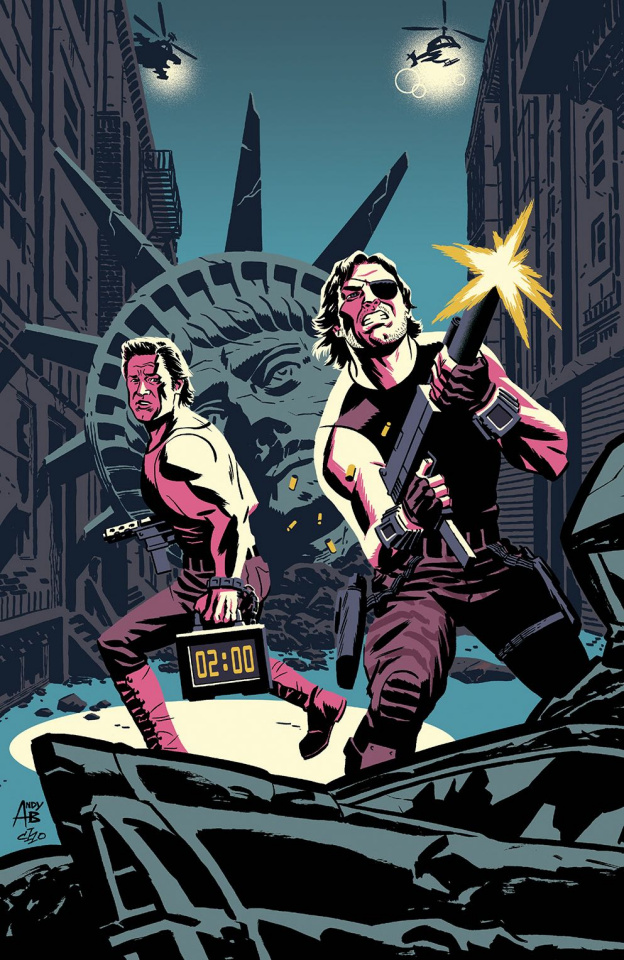 Big Trouble in Little China / Escape from New York #1 (East Cover)