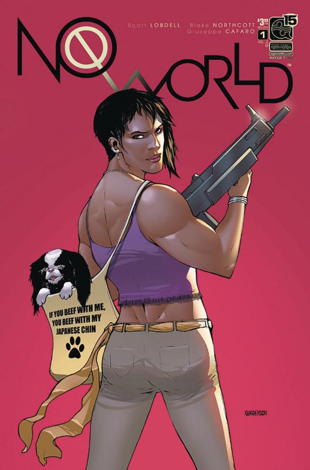 No World #1 (Gunderson Cover)