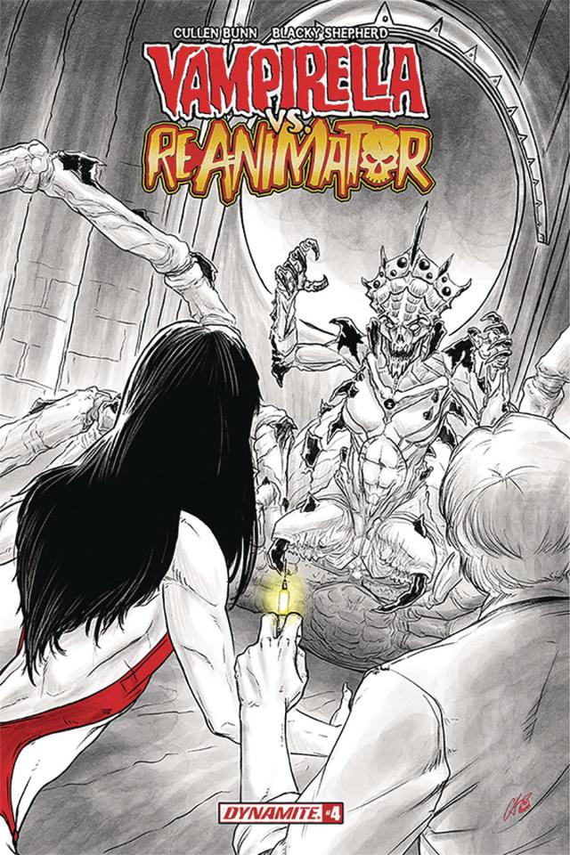 Vampirella vs. Reanimator #4 (Shepherd Cover)