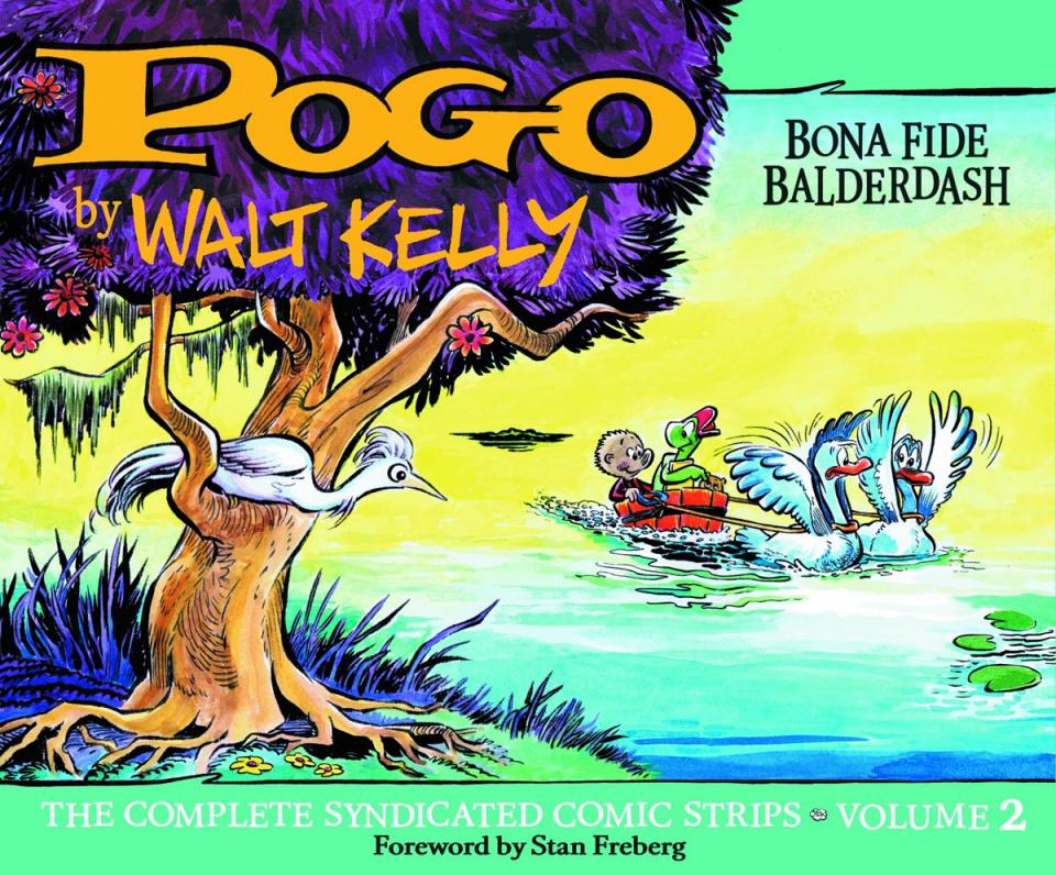 Pogo: The Complete Syndicated Comic Strips Vol. 2: Bona Fide Balderdash