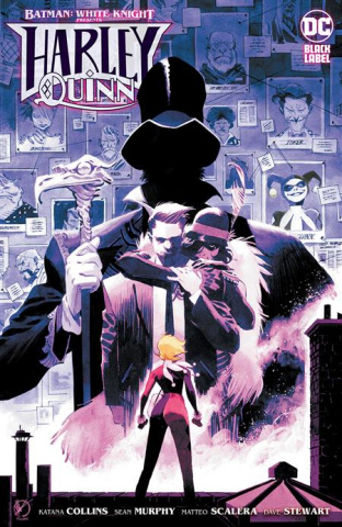 Batman: White Knight Presents Harley Quinn #4 (Matteo Scalera Cover)