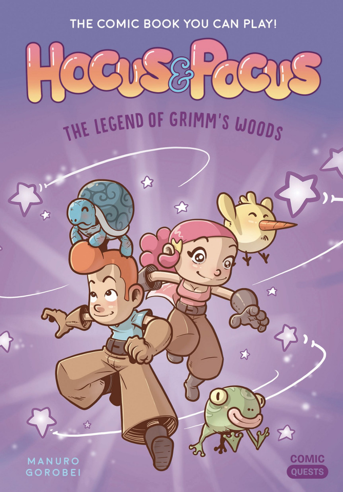 Comic Quests: Hocus & Pocus Vol. 1: The Legend of Grimms Woods