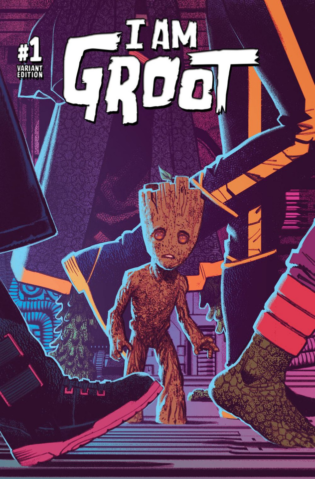 I Am Groot #1 (Smallwood Cover)