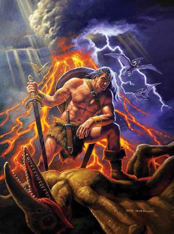 Conan the Barbarian #1 (Hildebrandt Cover)
