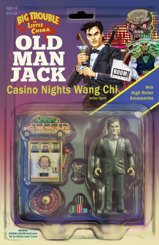 Big Trouble in Little China: Old Man Jack #10 (Subscription Cover)