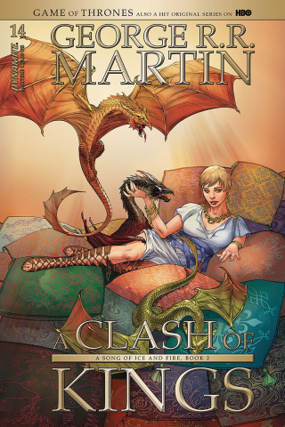 A Game of Thrones: A Clash of Kings #14 (Miller Cover)
