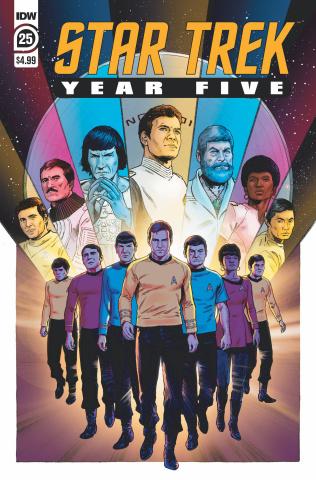 Star Trek: Year Five #25 (Stephen Thompson Cover)