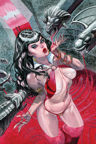 Vampirella #1 (40 Copy March Virgin Cover)