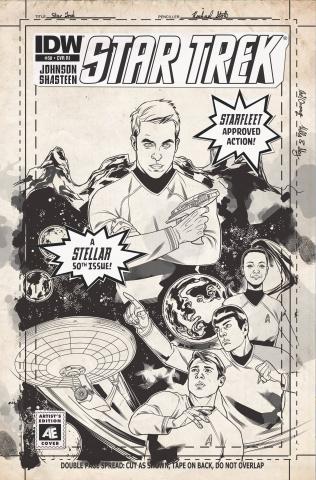 Star Trek #50 (10 Copy Cover)