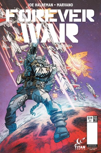 Forever War #3 (McCrea Cover)