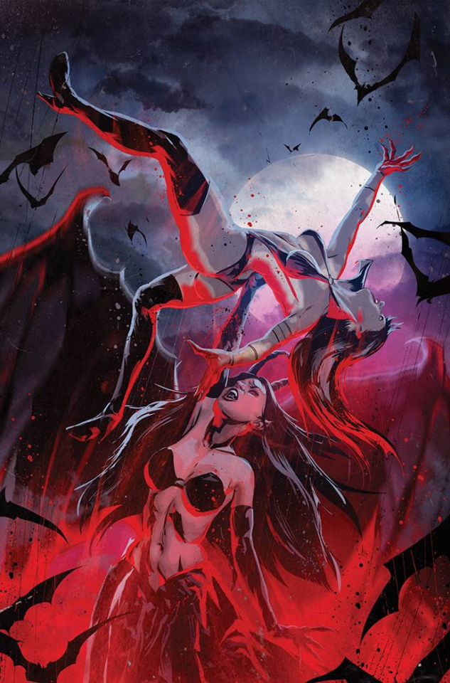 Vampirella vs. Purgatori #3 (7 Copy Kudranski Virgin Cover)