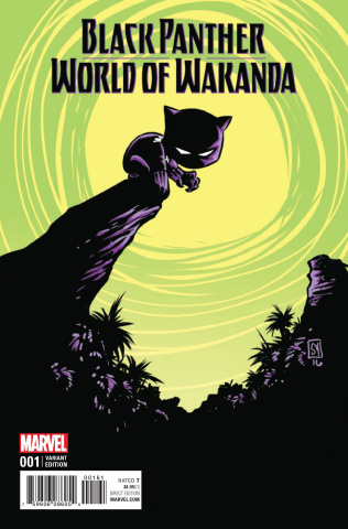 Black Panther: World of Wakanda #1 (Young Cover)