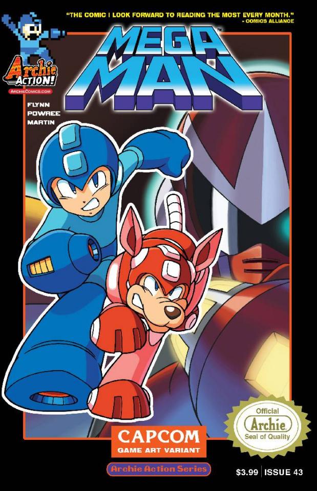 Mega Man #43 (Capcom Cover)