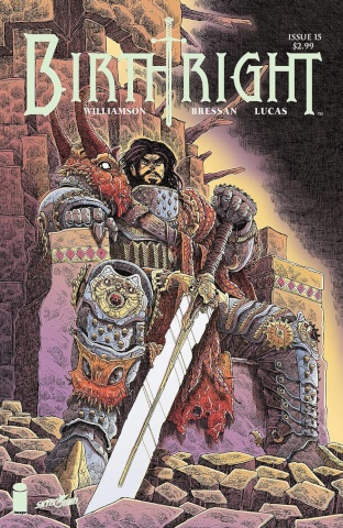 Birthright #15 (Stokoe Cover)