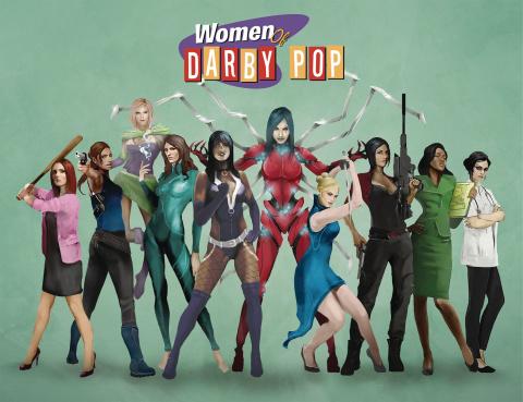 Women of Darby Pop #1