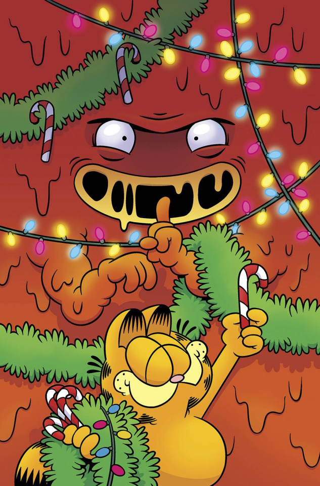 Garfield's Cheesy Holiday #1