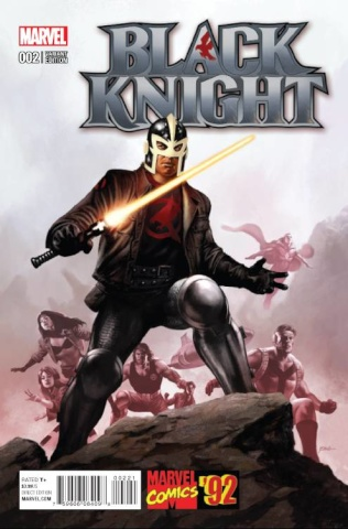 Black Knight #2 (Epting Marvel '92 Cover)