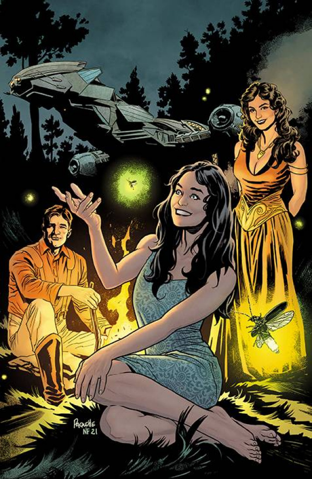 Firefly #31 (25 Copy Paquette Cover)