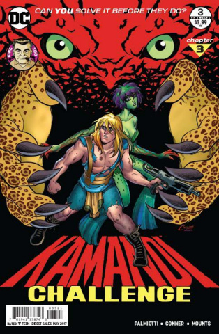 The Kamandi Challenge #3 (Variant Cover)