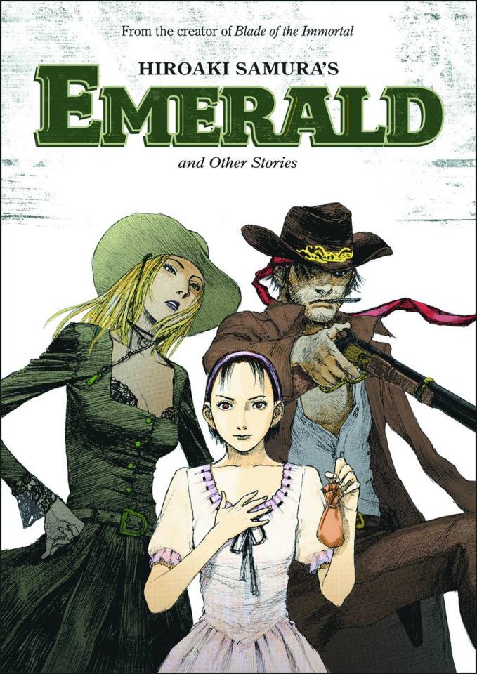 Hiroaki Samura's Emerald & Other Stories