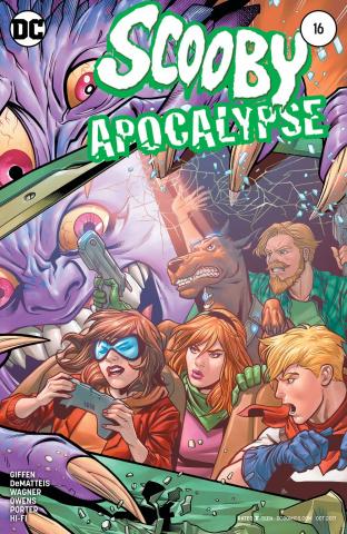 Scooby: Apocalypse #16 (Variant Cover)