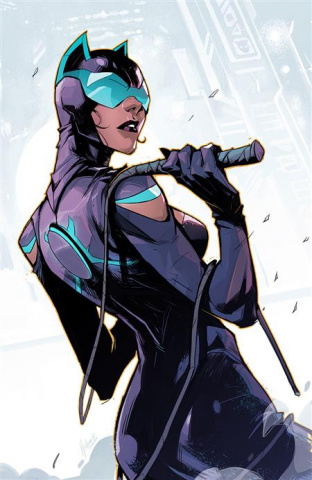 Future State: Catwoman #2 (Hicham Habchi Card Stock Cover)