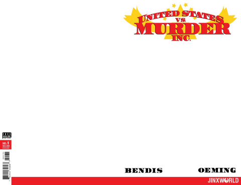 United States vs. Murder Inc. #1 (Blank Cover)
