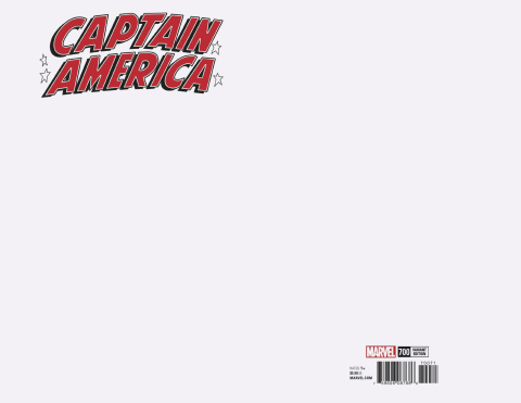 Captain America #700 (Blank Cover)