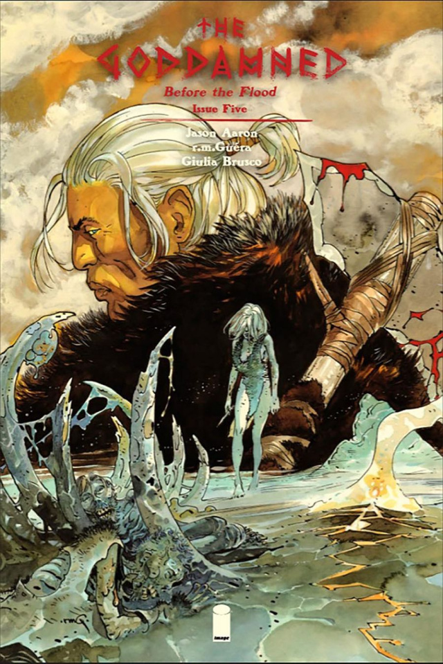 The Goddamned #5 (Guera Cover)