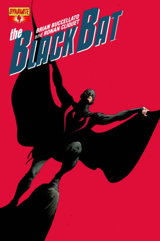 The Black Bat #4 (Lee Cover)